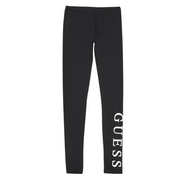 textil Flickor Leggings Guess J94B16-K82K0-JBLK Svart