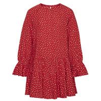 textil Flickor Korta klänningar Pepe jeans CATY Röd