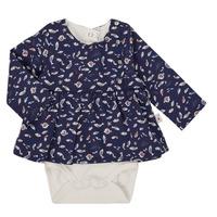 textil Flickor Blusar Absorba 9R60002-04-B Marin