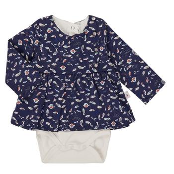 textil Flickor Blusar Absorba 9R60002-04-C Marin