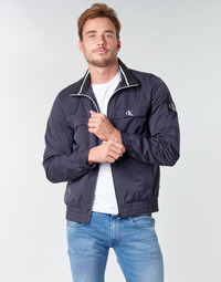 textil Herr Vindjackor Calvin Klein Jeans ZIP UP HARRINGTON Marin