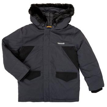 textil Pojkar Parkas Timberland T26525 Grå