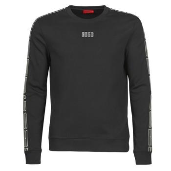 textil Herr Sweatshirts HUGO DOBY203 Svart