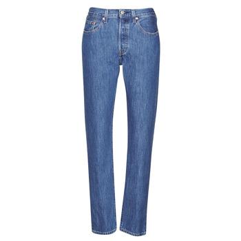 textil Dam Jeans boyfriend Levi's 501 CROP Stone