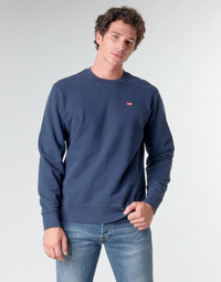 textil Herr Sweatshirts Levi's NEW ORIGINAL CREW Blues