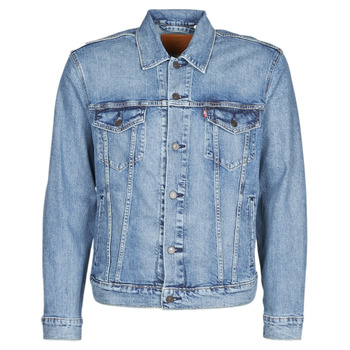 textil Herr Jeansjackor Levi's THE TRUCKER JACKET Triad / Trucker