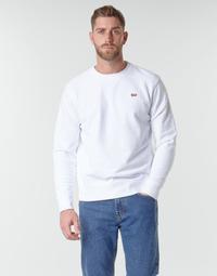textil Herr Sweatshirts Levi's NEW ORIGINAL CREW Vit