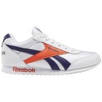 Skor Barn Sneakers Reebok Sport Royal CL Jogger Vit,Orange,Lila