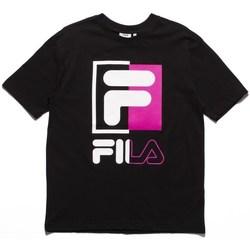 textil Herr T-shirts Fila Men Saku Tee Vit, Svarta, Rosa