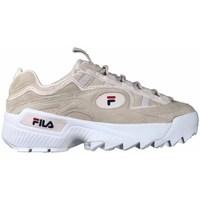 Skor Dam Sneakers Fila Dformation S Wmn Vit, Beige