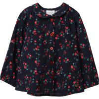 textil Flickor Blusar Carrément Beau Y95234 Blå