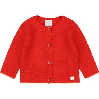 textil Flickor Koftor / Cardigans / Västar Carrément Beau Y95225 Rosa