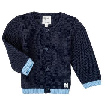 textil Flickor Koftor / Cardigans / Västar Carrément Beau Y95230 Blå