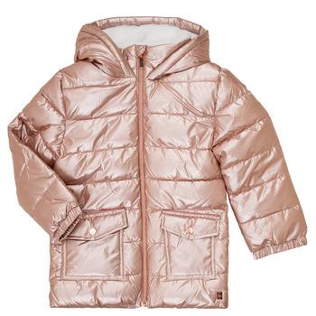 textil Flickor Täckjackor Carrément Beau Y16085 Rosa