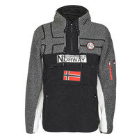 textil Herr Fleecetröja Geographical Norway RIAKOLO Svart