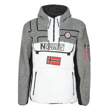 textil Herr Fleecetröja Geographical Norway RIAKOLO Vit