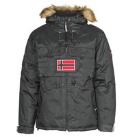 textil Herr Parkas Geographical Norway BENCH Svart