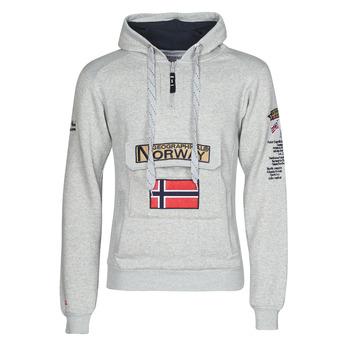 textil Herr Sweatshirts Geographical Norway GYMCLASS Grå / Blandade färger