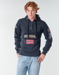 textil Herr Sweatshirts Geographical Norway GYMCLASS Marin