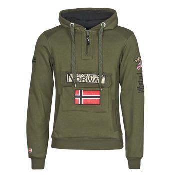 textil Herr Sweatshirts Geographical Norway GYMCLASS Kaki