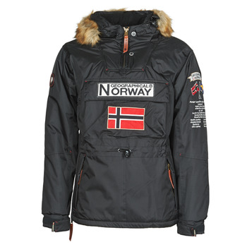 textil Herr Parkas Geographical Norway BARMAN Svart