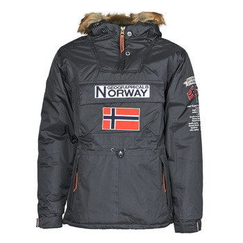 textil Herr Parkas Geographical Norway BARMAN Grå / Mörk