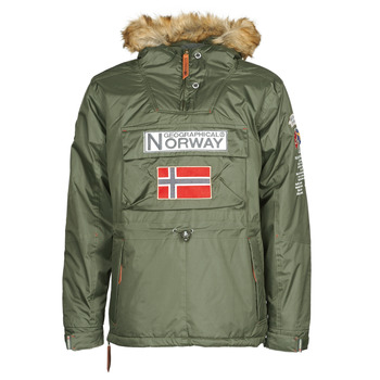 textil Herr Parkas Geographical Norway BARMAN Kaki