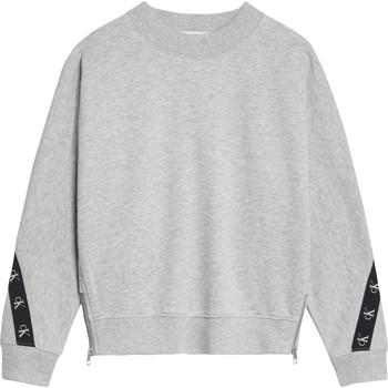 textil Flickor Sweatshirts Calvin Klein Jeans IG0IG00687-PZ2 Grå