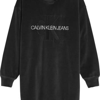 textil Flickor Korta klänningar Calvin Klein Jeans IG0IG00711-BEH Svart