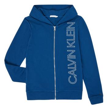 textil Pojkar Sweatshirts Calvin Klein Jeans IB0IB00668-C5G Blå
