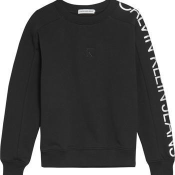 textil Flickor Sweatshirts Calvin Klein Jeans IG0IG00691-BEH Svart