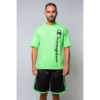 textil Herr T-shirts Champion Crewneck T-shirt 214233 Grön