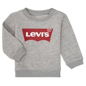 textil Pojkar Sweatshirts Levi's BATWING CREW Grå