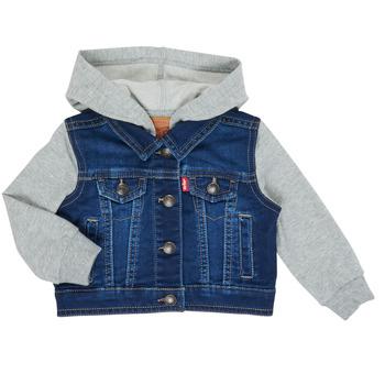 textil Pojkar Jeansjackor Levi's INDIGO JACKET Blå