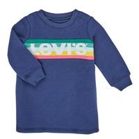 textil Flickor Korta klänningar Levi's SWEATSHIRT DRESS Blå