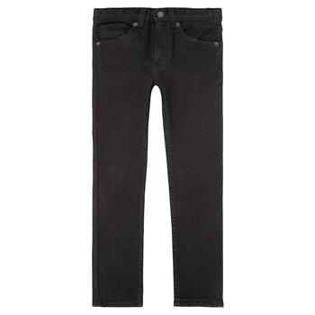 textil Pojkar Skinny Jeans Levi's 510 SKINNY FIT JEAN Svart