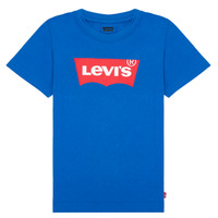 textil Pojkar T-shirts Levi's BATWING TEE Blå