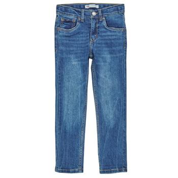 textil Pojkar Skinny Jeans Levi's 510 SKINNY FIT COZY JEAN Blå
