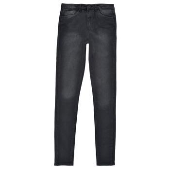 textil Flickor Skinny Jeans Levi's 720 HIGH RISE SUPER SKINNY Svart