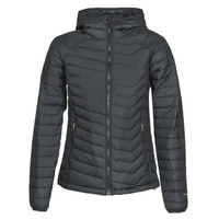 textil Dam Täckjackor Columbia POWDER LITE HOODED JACKET Svart