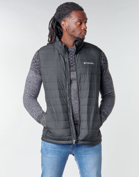 textil Herr Täckjackor Columbia POWDER LITE VEST Svart