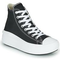 Skor Dam Höga sneakers Converse Chuck Taylor All Star Move Canvas Color Hi Svart
