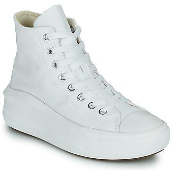 Skor Dam Höga sneakers Converse Chuck Taylor All Star Move Canvas Color Hi Vit