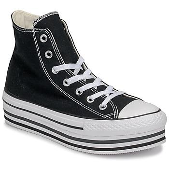 Skor Dam Höga sneakers Converse Chuck Taylor All Star Platform Eva Layer Canvas Hi Svart