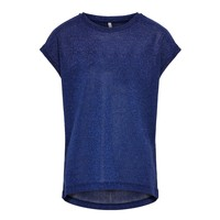textil Flickor T-shirts Only KONSILVERY Marin