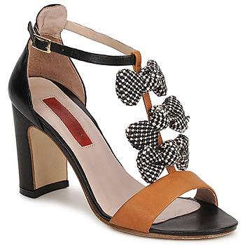 sandaler MySuelly NOE Svart / Brun 350x350