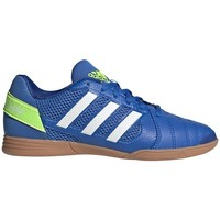 Skor Barn Fotbollsskor adidas Originals Top Sala Vit,Blå,Gula