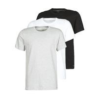 textil Herr T-shirts Calvin Klein Jeans CREW NECK 3PACK Grå / Svart / Vit