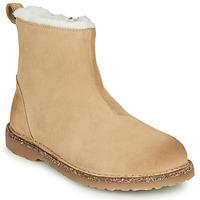 Skor Dam Boots Birkenstock MELROSE SHEARLING Beige