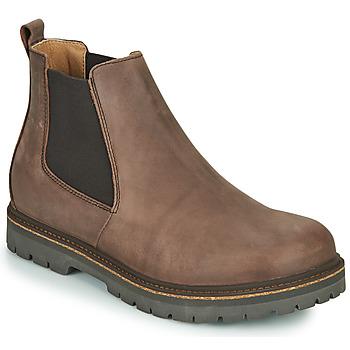 Skor Herr Boots Birkenstock STALON Brun